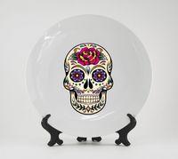"Тарелка ""Мексиканский череп"" (арт. 166)"