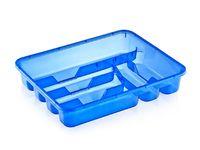 Лоток для кухонных принадлежностей пластмассовый (335х260х40 мм)