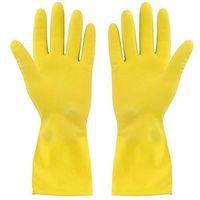 Перчатки хозяйственные резиновые (1 пара)