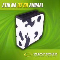 "Портмоне Esperanza ""Коровка"" на 32 CD"