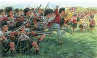 "Набор миниатюр ""Шотландская армия"" (масштаб: 1/72)"