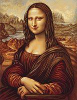 "Вышивка крестом ""Мона Лиза"" (400х530 мм)"