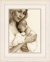 """Вышивка крестом """"Мать и дитя"""" (190x260 мм; арт. 0147890-PN)"""