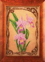 """Вышивка бисером """"Грациозные орхидеи"""" (170х260 мм)"""
