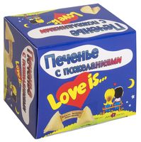 "Печенье ""С пожеланиями. Love is"" (6,5 г)"