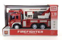 """Инерционная машинка """"Пожарная служба"""" (со световыми и звуковыми эффектами; арт. WY350C)"""