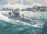 Германская подводная лодка Тип IIB 1943 г. (масштаб: 1/144)