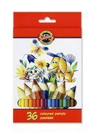 "Цветные карандаши ""La Paloma. Собака и кошка"" (36 цветов)"