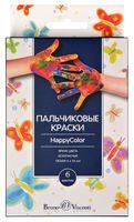 Краски пальчиковые (6 цветов; арт. 70-0007)