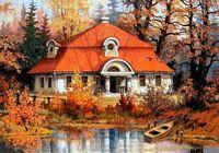 """Картина по номерам """"Осенний пейзаж"""" (400х500 мм)"""