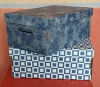 Набор коробок (2 шт.; синий)