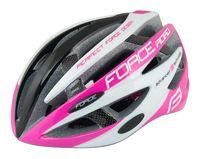 "Шлем велосипедный ""Road"" (черно-розово-белый; р. L-XL)"
