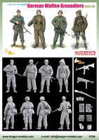 "Набор миниатюр ""German Waffen Grenadiers 1944-45"" (масштаб: 1/35)"
