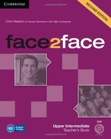 Face2Face. Upper Intermediate. Teacher`s Book (+ DVD-ROM)