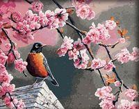 "Картина по номерам ""Приход весны"" (400x500 мм; арт. MG046)"