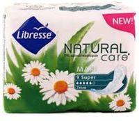 "Гигиенические прокладки Libresse Natural Care ""Maxi Super"" (9 шт)"