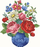 """Алмазная вышивка-мозаика """"Букет цветов"""""""