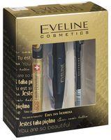 """Подарочный набор """"Eveline Cosmetics"""" (сыворотка, тушь, карандаш)"""