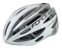 """Шлем велосипедный """"Road"""" (бело-серый; р. S-M)"""