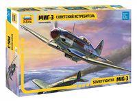 """Сборная модель """"Советский истребитель МиГ-3"""" (масштаб: 1/72)"""