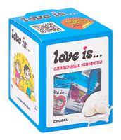 """Конфеты жевательные """"Love Is. Со вкусом сливок"""" (105 г)"""