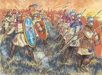 """Набор миниатюр """"Латные легионеры Римской Империи"""" (масштаб: 1/72)"""