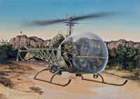 "Многоцелевой вертолет ""OH-13S Sioux"" (масштаб: 1/48)"