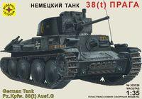"""Танк 38(t) """"Прага"""" (масштаб: 1/35)"""