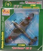 """Самолет """"Харрикейн"""" MkII 609-й ИАП 1942г. (масштаб: 1/72)"""