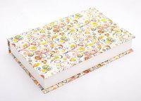 "Подарочная коробка ""Art-Nouveau Flowers"" (18х23,5х3,5 см; красные элементы)"