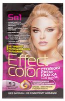 """Крем-краска для волос """"Effect Сolor"""" (тон: 9.3, жемчужный блондин)"""
