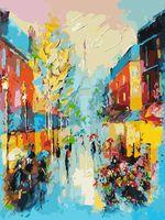 "Картина по номерам ""Улочки Парижа"" (300х400 мм)"