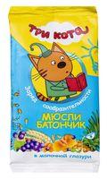 """Батончик в молочной глазури """"Три кота. Абрикос и злаки"""" (40 г)"""