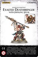 Warhammer Age of Sigmar. Blades of Khorne. Exalted Deathbringer With Impaling Spear (83-36)