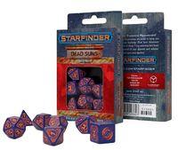 """Набор кубиков """"Starfinder. Dead Suns"""" (фиолетово-оранжевый; 7 шт.)"""