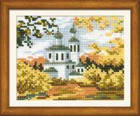 """Вышивка крестом """"Осень в деревне"""" (арт. 631)"""