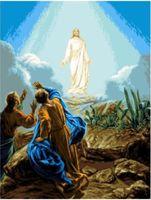 """Канва с нанесенным рисунком """"Сошествие Христа"""""""