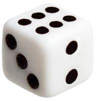 Кубик D6 (арт. 8`)