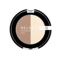 "Тени для век ""Relouis Pro Eyeshadow Duo"" (тон: 102)"