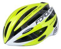 """Шлем велосипедный """"Road"""" (салатово-белый; р. L-XL)"""