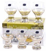 "Бокал для вина стеклянный ""Gina"" (6 шт.; 230 мл; арт. 40159/M8441/230)"