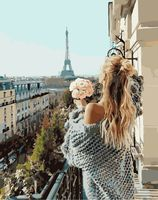 "Картина по номерам ""Утро в Париже"" (400х500 мм)"