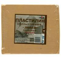 """Пластилин скульптурный """"Телесный"""" Т (500 гр)"""