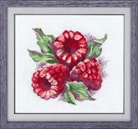 """Вышивка крестом """"Ароматная ягода"""" (150х140 мм)"""