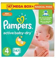 "Подгузники ""Pampers Active Baby-Dry Maxi"" (8-14 кг, 147 шт)"