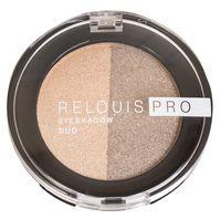 "Тени для век ""Relouis Pro Eyeshadow Duo"" (тон: 112)"