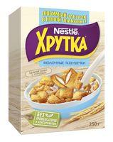 """Подушечки """"Nestle. Хрутка"""" (250 г; с молочной начинкой)"""