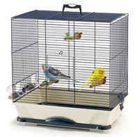 """Клетка для птиц """"Primo 40"""" (46x32x48 см; темно-синяя)"""