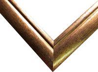 Рамка деревянная для картины по номерам (40х50 см; золото)