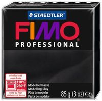 """Глина полимерная """"FIMO Professional"""" (черный; 85 г)"""